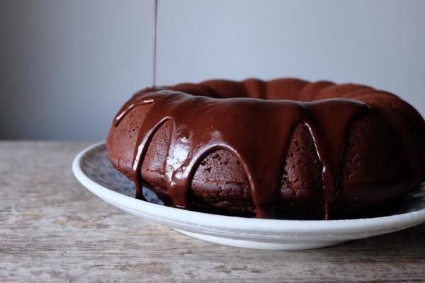 Teff chocolate cake