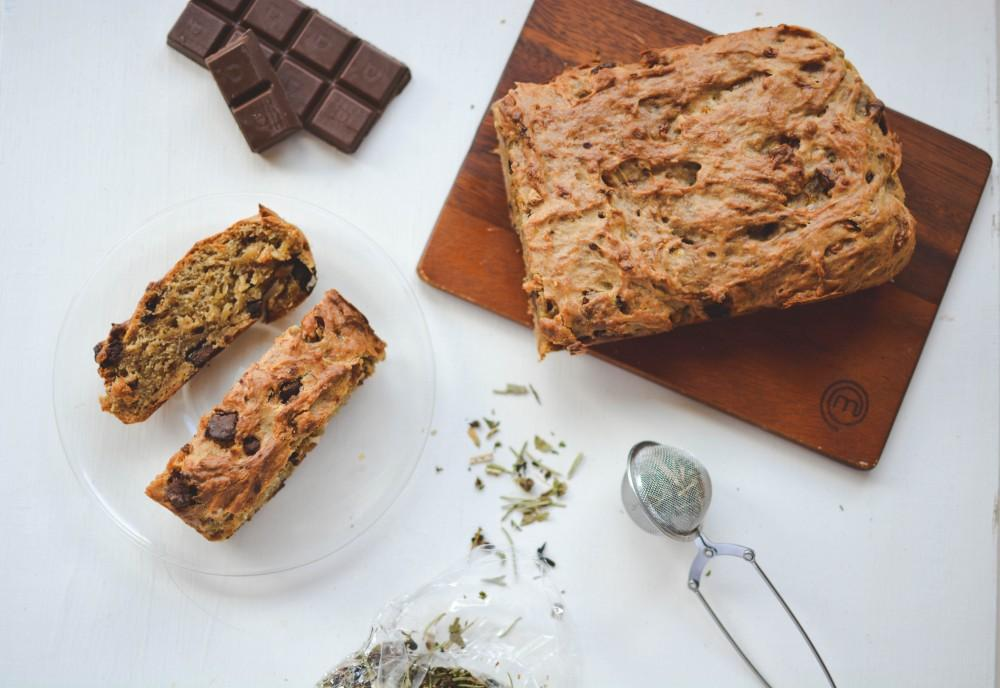 Teff chocolate chip banana bread - Teff Tribe