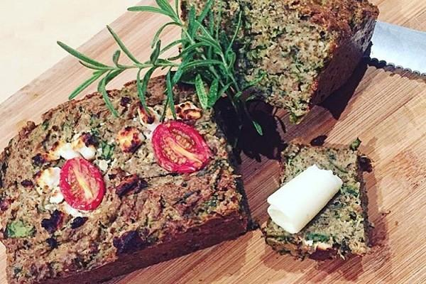 Zucchini & Spinach Teff Loaf