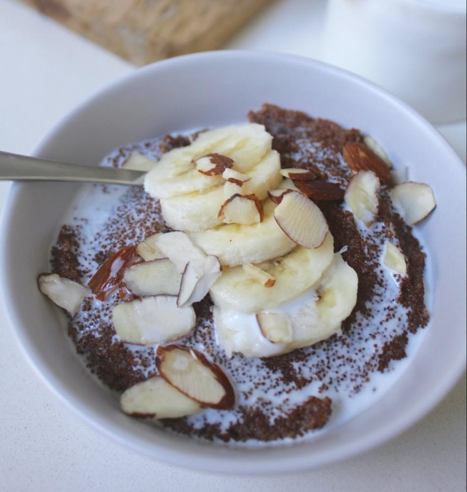 Coconutty Teff Porridge