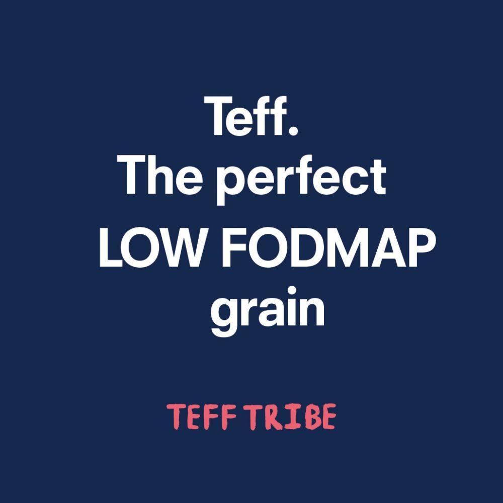 Teff – The Perfect Low FODMAP Grain