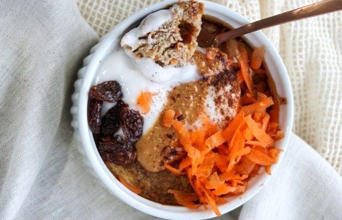 Carrot Cake Teff Porridge